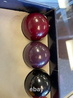 Raschig 9 Ball Pool Ball Set Mint Condition