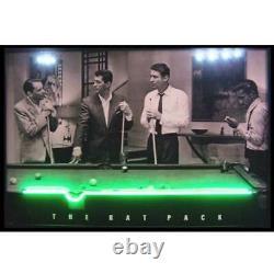 Rat Pack Las vegas Neon LED Poster 8 ball pool room table billiards lamp light