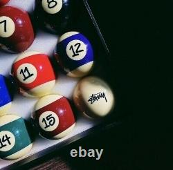 Stussy Japer Bees Billiard Balls Set SOLD OUT NEW in Plastic Wrap