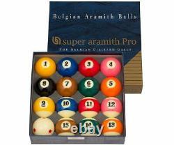 Super Aramith BBSAPTV Pro TV Billiard Pool Ball Set FREE SHIPPING