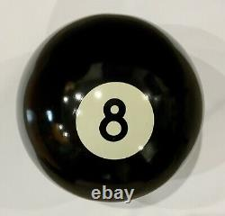 Vintage Think Big Oversized 8 Ball Pool/Billiards Mint Condition Very Rare